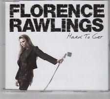 (GR52) Florence Rawlings, Hard To Get - 2009 DJ CD