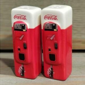 Coca-Cola Automat Salz+Pfefferstreuer Vending machine cool + krass