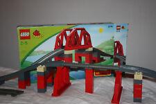 LEGO DUPLO VILLE 3774, Eisenbahnbrücke, vollständig, SEHR GUT!!! MIT OVP + EXTRA