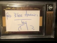 Tommy Franks autograph *inscribed*