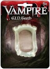 Deluxe Vampiro Medaglione Collana in metallo adulto uomo Halloween Fancy Dress