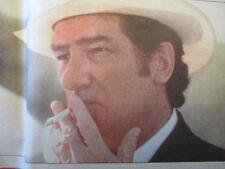 EDDY MITCHELL: SCHWARZENEGER VOULAIT QUE JE SOIS GODEFROID BOUILLON - 05/05/1994