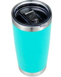 Stainless Steel Vacuum Insulated Tumbler with Lid Mint