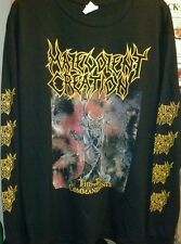 MALEVOLENT CREATION-SHIRT THE TEN COMMANDMENTS BRUTALITY PESTILENCE ASPHYX NME