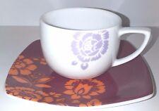 Mòndi ART.9MO6 SET 6 TAZZE CAFFE' CON PIATTINO COLLEZIONE INDIA