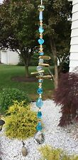 Healing Gemstone Quartz Crystal Suncatcher/Prism W/Swarovski Elements USA