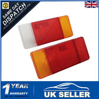 PAIR REAR TAIL LIGHT LAMP LENS R/H+L/H FOR IVECO EUROCARGO DAILY TALBOT EXPRESS