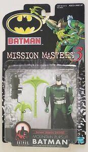 THE NEW BATMAN ADVENTURES MISSION MASTERS 3 MOUNTAIN PURSUIT BATMAN W/ BATARANG