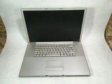 "Apple PowerBook G4 17"" 2005 A1139 PowerPC G4 1.67GHz 1GB RAM - PARTS -RR"