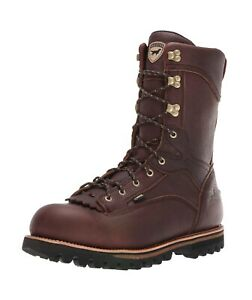 "Irish Setter 860 Elk Tracker Waterproof 1000g 12"" Hunting Boots Mens Size 10 EE"