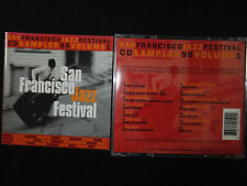 RARE CD SAN FRANCISCO JAZZ FESTIVAL / SAMPLER 96 / VOL 1 /