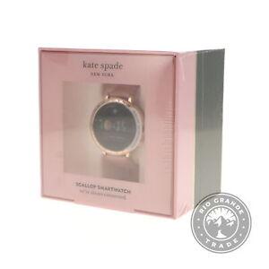 NEW Kate Spade New York KST2009 Women's Scallop 2 Smartwatch in Beige - 42mm