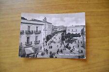 CARTOLINA MATERA PIAZZA VITTORIO VENETO VIAGGIATA 1956 SUBALPINA DD