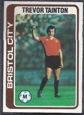 TOPPS 1979 FOOTBALLERS #044-BRISTOL CITY-MANCHESTER CITY-EVERTON-JOE ROYLE