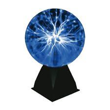 Plasmakugel 20cm Blau - Toller Retro Lichteffekt / Magische Blitze im Plasmaball