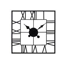 Square Contemporary Kitchen Wall Clocks
