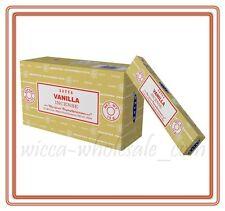 Lot of 12 Box Original Nag Champa VANILLA Incense Stick: 12 x 15gr = 180gr