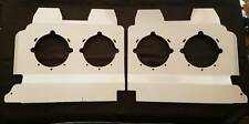 Stainless Steel Headlight Backings with cut out to suit Kenworth T900 (Long)