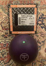 Hammer Purple Pearl Urethane Bowling Ball - 15lbs *NIB RARE*