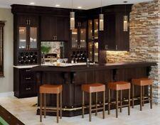Shaker Espresso Kitchen Cabinets-Sample door-Rta-All wood, in stock