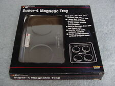 "PERFORMANCE TOOL SUPER 4 MAGNETIC TRAY 10.75"" X11.5""  SQUARE NIB"