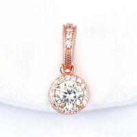 NEW AUTHENTIC PANDORA Rose Gold Classic Elegance Pendant Charm 380379CZ