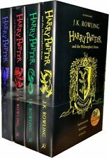 Harry Potter and the Philosopher's Stone Collection By J.K. Rowling 4 Books Set