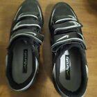 Nike Black/Gray Men's Cycling Shoes Size US 10 EUR 44