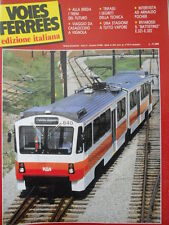 Voies Ferrees n°29 1986 -  Locomotive Trifase i segreti della Tecnica [TR.30]