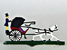 German Wilhelm Schweizer Pewter - Horse Drawn Carriage - Miniatures - Bavarian