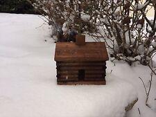Log Cabin Incense Burner With 45 Balsam Fir Logs