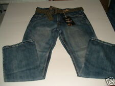 30 X 30 URBAN PIPELINE LOW RISE BOOTCUT JEANS WITH BELT NWT