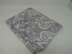 RALPH LAUREN KING SHAM ABSTRACT FLORAL OFF WHITE TAUPE GRAY (1)
