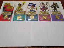 AUST 2020 $1 Eureka Gold Rush C Canberra Mintmark full Set of Cards & Coins UNC