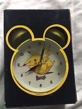 Vintage Pokemon Pikachu Alarm Clock
