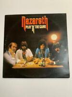 Nazareth – Play'n' The Game Vinyl LP 1976 UK 1st Pressing *VG+*