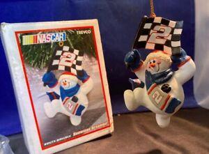 Nascar Rusty Wallace Snowman ⛄️ Christmas Ornaments Snowmen Pit Crew