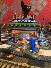 department 56 halloween village Black Cat Diner