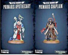 Warhammer 40K Dark Imperium SPACE MARINES PRIMARIS APOTHECARY & CHAPLAIN