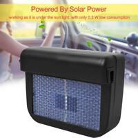 Solar Powered Car Window Air Vent Cooling Fan Ventilation Cooler Radiator Q8