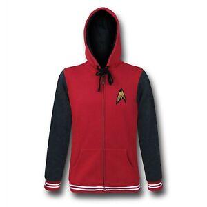 Star Trek Red Starfleet Academy San Francisco Varsity Men's Varsity Hoodie
