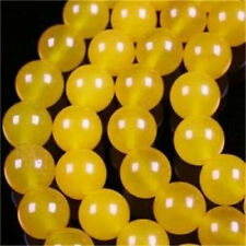 "6mm Yellows Jade Round Gemstone Loose Beads 15""lllkkmkk"