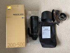 Nikon Nikkor AF 200-500mm F/5.6 VR ED AF-S Lens