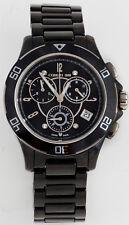 Cerruti DIAMOND Damen Chrono Chronograph Uhr schwarz Keramik NEU UVP* 699,00€ C2