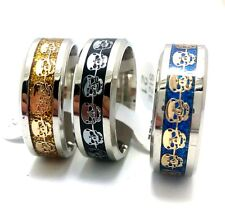 36 mix skull men women fashion Stainless steel Ring Jewelry lots wholesale