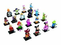 New LEGO Series Disney Collectible Minifigures Complete Set of 18 - 71012