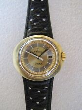 Vintage Omega Geneve Dynamic automatic ladies watch bicolor dial all original