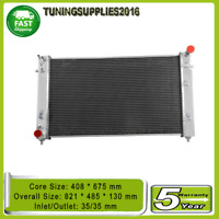 3ROW 02-04 5.7L V8 Radiator For HOLDEN VY COMMODORE GEN3 LS1 WK STATESMAN SS HSV
