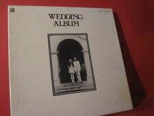 "JOHN LENNON-YOKO ONO ""WEDDING ALBUM"" (JAPANPRESSING-LP/RECORD/LIKE NEW=NEARMINT)"