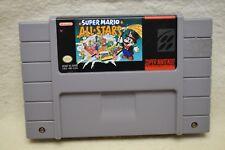 Nintendo SNES Super Mario All Stars Game Cart